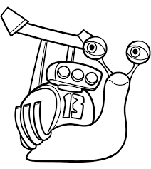 √ Coloriage Turbo L Escargot Imprimer Coloriage Escargot