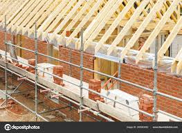 100 House Trusses Construction Site Built Brick Timber Featuring Brickwork Roof