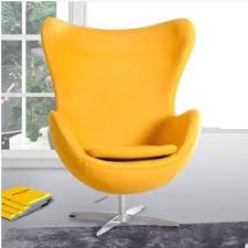 Egg Style Chair Top cashmere living room furniture Chairs modern