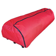 Simple Living Innovations 75ft Tree Storage Roller Bag Red