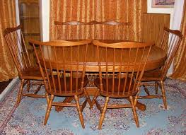 Tell City Dining Table With 6 Chairs