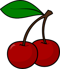 Cherry clipart black and white free clipart images