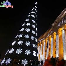 Outdoor Commercial Lighted 20ft 30ft 40ft 50ft Giant Christmas Tree