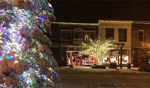 Truckee Downtown Merchants Association Holiday Festival Bud Fish Tree Lighting