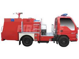 100 Mini Fire Truck ISUZU QKR 4 WHEELER 1000 LITERS MINI PTO FIRE TRUCK EURO 4