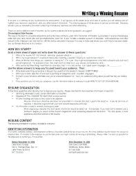Volunteer Resume Summary Examples And Free Customer Service