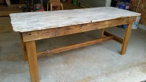 Rustic White Wash Barn Door Dining Table - M. Jones Creations Remodelaholic Old Barn Door Recycled Into Kitchen Table Top Ideas Ana White Sliding Barn Door Kitchen Island Diy Projects Custom Grey M Jones Creations Table On Front Porch Painted And Distressed Legs Amazoncom Ameriwood Home Farmington Coffee Rustic Buffet Console Tv Stand Barnwood Red Ding Doors Asusparapc Repurposing A Salvaged Part 4 Fire Pit Life Made From A 80 Year Old For Sue Lynn