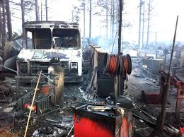 100 Whittemore Truck And Trailer Fourmile Fire 92 Structures Lost Partial Property List Released