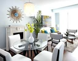 Small Living Room Dining Combo