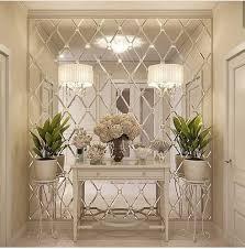 liación óptica de la sala con espejo de pared mir