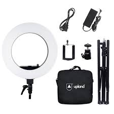 Upland 18 LED Ring Light Kit 55W 5500K Circle Light With