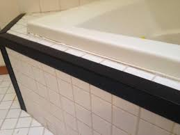 Tiling A Bathtub Deck by Tiled Tub Deck Cover For Edges Corners The Home Depot Community