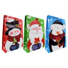 Jumbo Whimsical Christmas Gift Bags