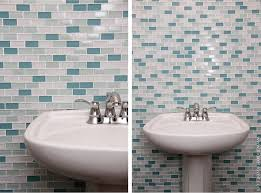 home improvement laying tile on a fireplace walls or