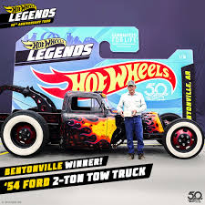 100 Hot Wheels Tow Truck On Twitter Meet Vin Erwin And His 54 Ford 2Ton Rat