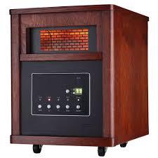 ecotronic 1500 watt 6 element infrared electric portable heater