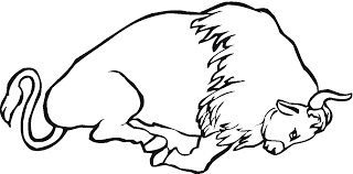 Buffalo Bison Coloring Pages