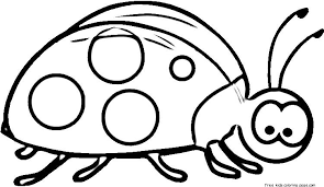 Printable Ladybug Coloring Pages Online For KidsFree