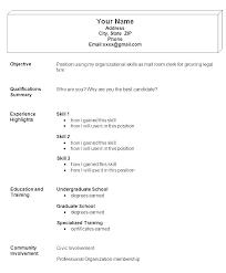Pdf Resume Samples Basic Examples Job Sample Format Easy