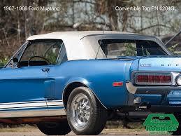 1967-1968 Mustang Convertible Tops | Mustang Tops | ConvertibleTop.com