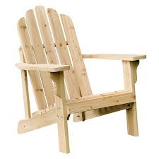Lowes Canada Adirondack Chairs by Shop Shine Company Marina Natural Cedar Patio Adirondack Chair At