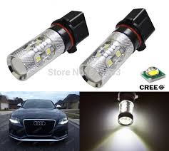 shop 2x error free xenon white p13w 50w led daytime running