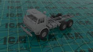 Soviet Six-Wheel Army Truck (100% New Molds) » ICM Holding - Plastic ... Scale Model Ford Pick Up Truck Lifted Youtube Amt Model Semi Kits Best Resource Mack Dm 600cat Dh8 125 Amtertl 2 Kit Project Ideas Revell 132 Mack Fire Truck Pumper Plastic Snap Model Kit Autocar Maquetas Vehiculos Pinterest Models Car The Modelling News Meng Are At Nemburg Toy Fair To Pick And Trailer Monogram Tom Daniels Garbage Plastic Kit 124 Scale 1966 Chevy Fleetside Pickup Revell 857225 New Custom Truck Archives Kiwimill Maker Blog Mpc 852 Datsun Monster Amazoncom Kenworth W900 Toys Games