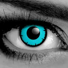 Prescription Colored Contacts Halloween by Pair Angelic Blue Fx Contact Lenses Corrective Fda Cleared