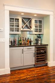 Built In Wall Bar Ideas Home Design
