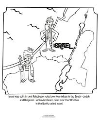 Israel And Judah Coloring Page