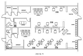 Barbershop Floor Plan Layout