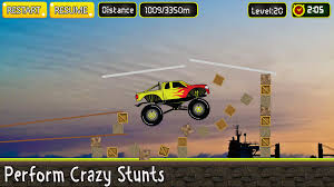 100 3d Monster Truck Games Extreme Stunt 3D Free Download Of Android Version