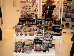 Display Of Animal Print Product Grouped Together