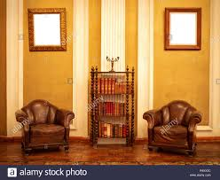 100 Victorian Era Interior Era House Interior With Two Armchairs And Bookcase