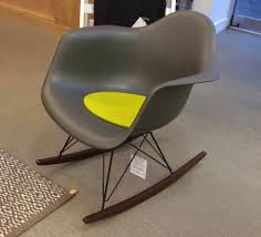 100 Rocking Chair With Pouf Furniture Fresh Nursery Room Design Eames Rocker And