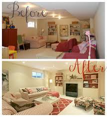 Small Basement Family Room Decorating Ideas by Basement Wonderful Spacious Basement Remodelling With White Walls
