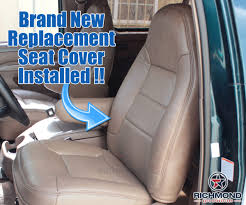 1992-1996 Ford Bronco Eddie Bauer Seat Cover: Driver Lean Back, Tan ... 2015 2018 Ford F150 Custom Leather Upholstery 19992007 Super Duty Seat Replacement 0408 Driver Bottom Cover Install Youtube Platinum 4x4 35l Ecoboost Review With Video F Series Windshield Best Prices 2005 Wiring Wire Center Images Pickup Truck Seats 2019 Limited Spied New Rear Bumper Dual Exhaust Coverking Genuine Customfit Covers Jump Clever Console Lid And Used Oem Oukasinfo 092014 Clazzio 7201