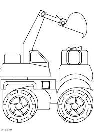 Coloriage Tracteur Vvivante