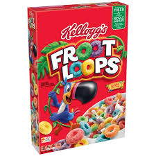 Kelloggs Froot Loops Cereal