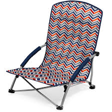 Picnic Time Reclining Camp Chair by Tranquility Portable Beach Chair Vibe Picnic Time 792 00 325