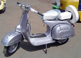 Beautifully Restored Vintage Vespa