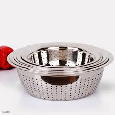 Over The Sink Colander by 100 Over The Sink Colander Stainless Steel Stainless Steel