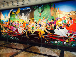 Denver International Airport Murals Painted Over by Waur Hae I Been Ali Hutton