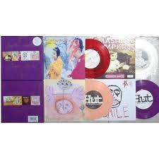 Rocket Smashing Pumpkins Live by Siamese Singles Uk 1993 Ltd 4 X 7singles Coloured Vinyl Box Set