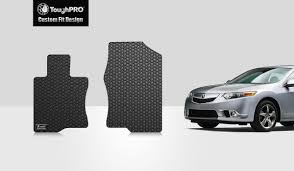 ToughPRO Acura TSX Floor Mats - Two Front Mats - All Weather - Heavy ... Universal Fit 3piece Full Set Ridged Heavy Duty Rubber Floor Mat Armor All Black 19 In X 29 Car 4piece John Deere Vinyl 31 18 Mat0326r01 Bestfh Truck Tan Seat Covers With Combo Alterations Mats Red Metallic Design On Vehicle Beautiful For Weather Toughpro Infiniti G37 Whosale Custom For Subaru Forester Legacy 19752005 Bmw 3series Husky Liners Heavyduty