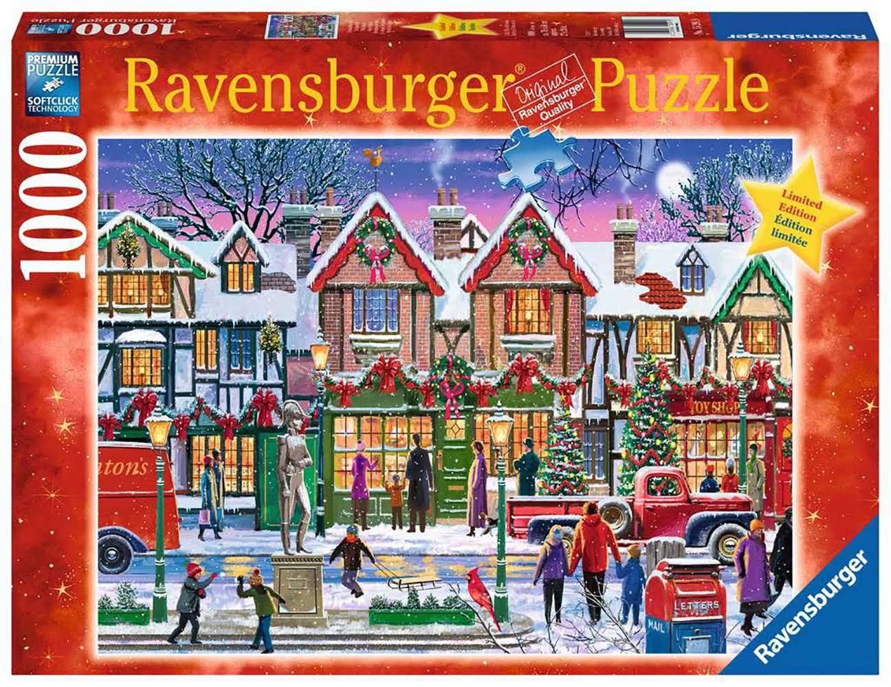 Ravensburger Christmas in The Square - 1000 PC Puzzle