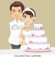Cutting Wedding Cake csp