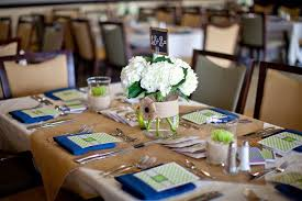 Rustic Beach Themed Wedding Table