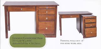 Small Secretary Desk With File Drawer by Home Office Furniture Small Student Desks