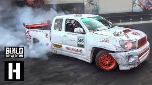 100 Toyota Drift Truck 1jz Swapped Tacoma XRunner Builtto Pickup Slays Our Yard